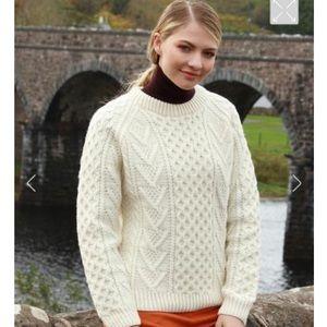 Vintage Blarney Irish Fisherman's Sweater-Like New